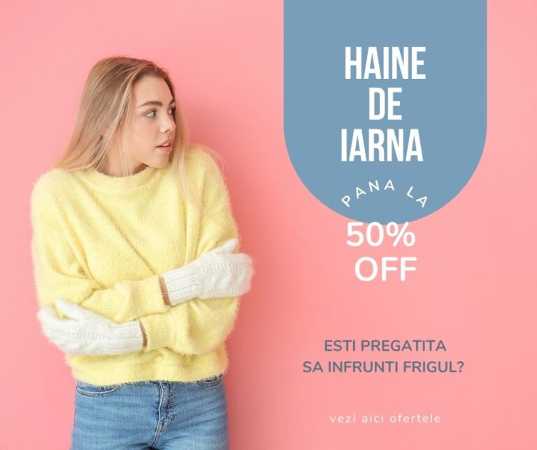 haine iarna online de Black Friday