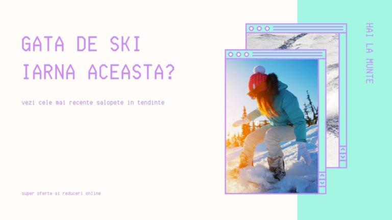 combinezon ski iarna