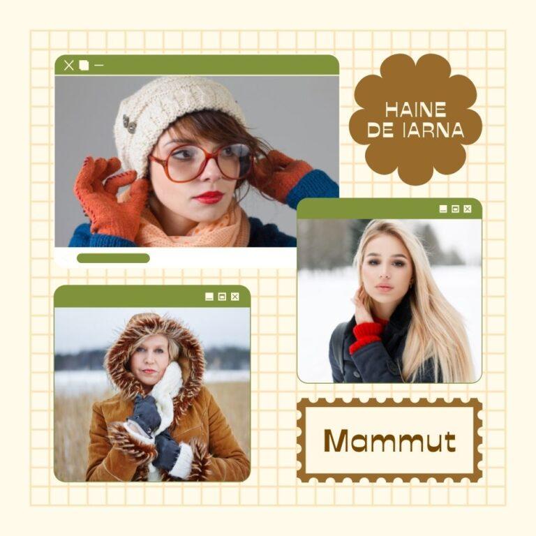 haine Mammut in Romania