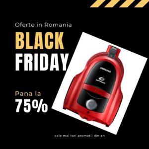 Aspirator Black Friday reduceri 2021