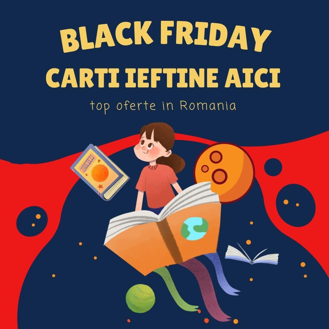 Carti Black Friday oferte Romania 2021